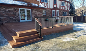 $2,699 New Composite Deck Installation, 15% Savings