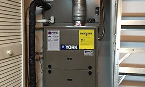 $5,520 for a 4 Ton York Heat Pump Installation