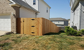 $3,150 for 100 linear feet of Cedar Wood Privacy Fence installation