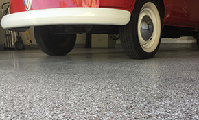 $1,799 for Epoxy Garage Floor, Reserve Now $89.95