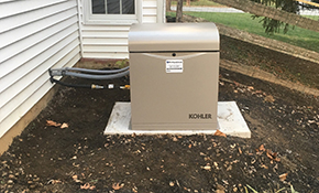 $6,220 Installation of a Home Generator, Reserve Now for $311