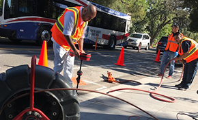 $89.99 for Mainline Drain Cleaning, Reserve Now for $9