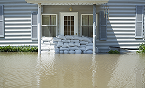 $135 Water Damage Emergency Call, Reserve Now for $33.75