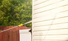 $349 Home Exterior Pressure Washing,  Reserve Now $52.35