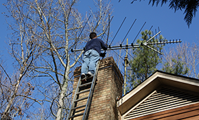 $162 Chimney Sweep and Safety Inspection, Reserve Now for $24.30
