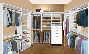 $1,799 Closet Re-Design and Professional Installation