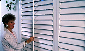 $1,345 for Up to 60 Square Feet of Plantation Shutters Installed Plus Free Consultation