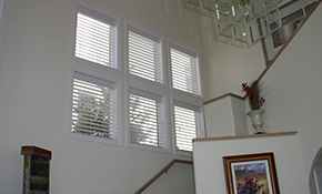 $749 for 10 Faux Wood Blinds, Measuring and Installation