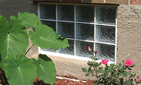 $1,175 for Glass Block Upgrade on Basement Window