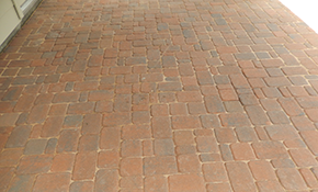 $2,160 for Paver Stone Patio or Walkway Delivery and Installation
