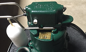 $725 for New Zoeller Sump Pump Installation with Warranty