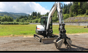 $1,800 for an Excavator and Operator for 8 Hours