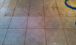$189 Tile and Grout Cleaning for 1 Room