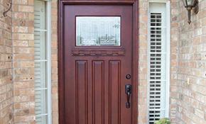 $590 for an Exterior Door Installation