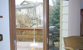 $4,244 for a Pella Designer Series Sliding Patio Door Including Installation