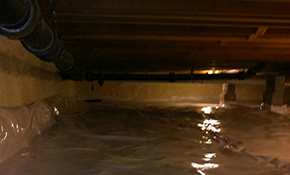 $2,500 for Crawlspace Vapor Barrier Installation and Moisture Analysis