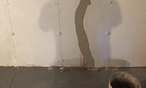 $425 for Basement Crack Repair