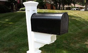$440 for Mayne Dover/ Janzer Mailbox and Installation Package