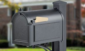 $615 for Whitehall Superior Mailbox and Installation Package