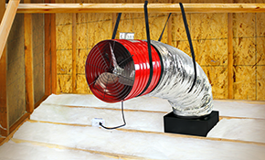 $1,428 Quiet Cool 3.3 Whole-House Fan Installation
