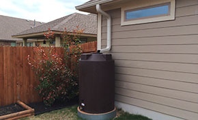 $430 for a 200-Gallon Rain Tank