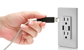 $199 for 3 USB Combination Outlet Conversions - Including Labor and Materials