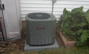 $3,975 Trane 14 SEER Heat Pump with Electric Furnace
