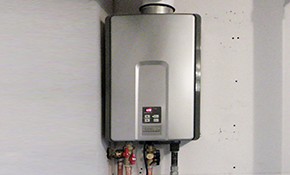 $2,999 for a Navien NPE-240S Eco-Friendly Tankless Water Heater System With Installation