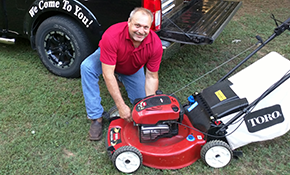 $240 for a Walk-Behind Mower 3 Year Service Agreement