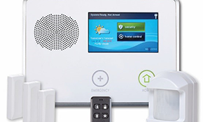 $199 for an Ultimate Monitored 2GIG Touch Screen Security System Professionally Installed