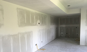 $3,806 for 50 Sheets of Drywall Installed and Finished