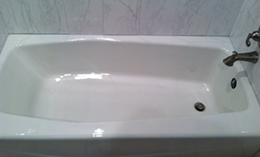 $648 for Bathtub Refinishing with Synthetic Porcelain and 11-Year Warranty