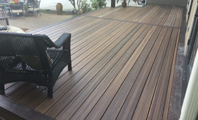 $2,349 for 10'x10' Composite Deck - 25 Year Warranty