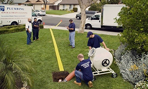 $1,968 No Dig Sewer Re-lining Repair and Whole Home Plumbing Inspection