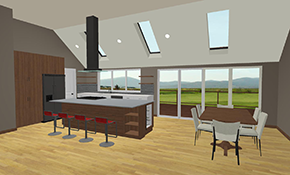 $449 for a Kitchen or Bathroom Design Consultation with 3-D Renderings