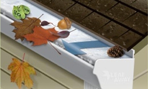 $2,470 for 80 feet of Leafaway Gutter System