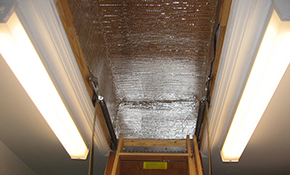 $120 for a Custom-Made Attic Access/Door Cover