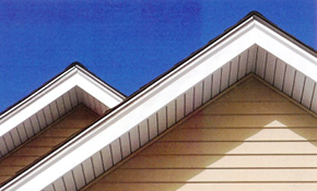 $950 For 50 Linear Feet Of Vented Soffit And Fascia Wrapping Installation