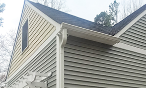 $496 for 100 Linear Feet of High-Capacity, 5-inch Gutters or Downspouts