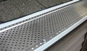 "$399 for 75 Linear Feet of 5"" or 6"" Heavy Duty Stainless Steel Leaf Guards Installed"