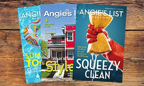 $9.99 for an Annual Angie's List Magazine Subscription