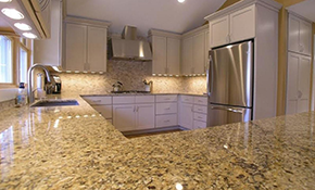 $2,295 for Custom Granite Countertops up to 40 Square Feet--Labor and Materials Included