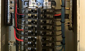 $1,100 for an Electrical Breaker Panel Replacement, Drywall Repair Included