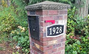 $1,750 Brick Mailbox Install