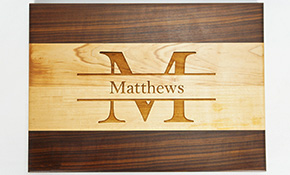 $199 for a Unique, Hand-Made, Personalized Cutting Board