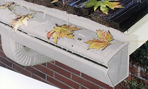 $1,200 Townhouse Leaf Free Gutter System Installation (Up to 45 Linear Feet)