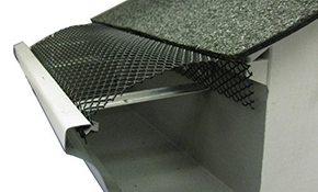 $399 for 100 Linear Feet of Black Enamel Small Hole Screen Gutter Covers