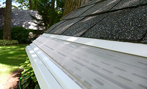 $1,399 for 100 Linear Feet of Mastershield Gutter Protection