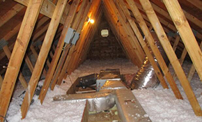 $75 for the First 50 Square Feet of R-30 Attic Insulation