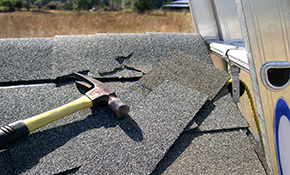 $139 for Roof Leak Repair--up to 8 leaks--includes Roof Maintenance and Storm Inspection